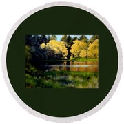 Nature Walk Round Beach Towel