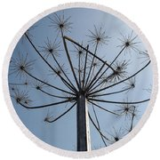 Natures Carnival Round Beach Towel