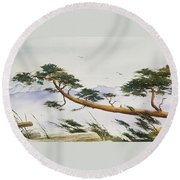 Natures Creation Round Beach Towel
