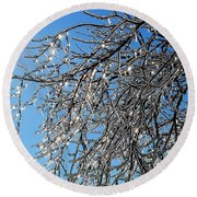 Natures Crystal Round Beach Towel