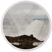 Nature's Force Round Beach Towel