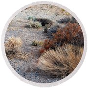 Natures Garden - Utah Round Beach Towel