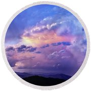 Natures Glory Round Beach Towel