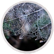 Nature's Lace Round Beach Towel