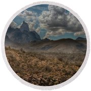 Natures Majesty Round Beach Towel
