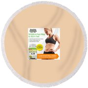 Natures Slim Garcinia Round Beach Towel