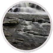Natures Water Beauty Round Beach Towel
