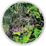 Nature's Way Round Beach Towel by Eikoni Images