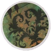 Natures Whimsy 4 By Madart Round Beach Towel