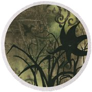 Natures Whimsy 6 By Madart Round Beach Towel