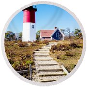 Nauset Round Beach Towel