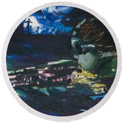 Navy Seal Round Beach Towel