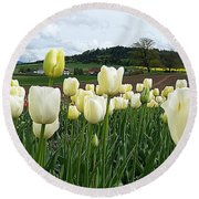 Near From You Round Beach Towel
