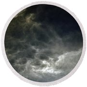 Nebulis Round Beach Towel