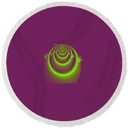 Necklace Round Beach Towel