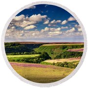 Needle Point From Saltersgate Round Beach Towel