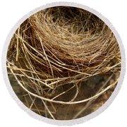Nest 913 Round Beach Towel