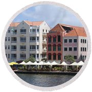 Netherlands Antilles Round Beach Towel