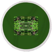 Never Ending Round Beach Towel