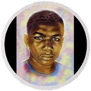 Never Forget Trayvon Round Beach Towel
