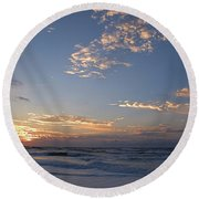 New Dawn Round Beach Towel