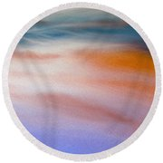 New Day Round Beach Towel