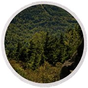 New Hampshire Round Beach Towel