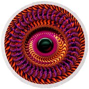 New Horizon Round Beach Towel