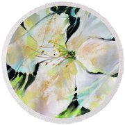 New Life Round Beach Towel