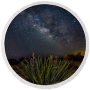 New Mexican Night Round Beach Towel