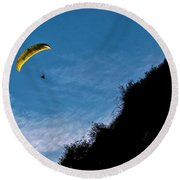 New Moon Round Beach Towel
