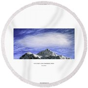 New Tomorrow Today Round Beach Towel