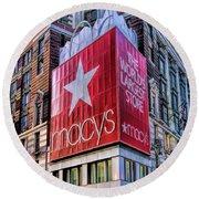 New York City Macy's Herald Square Store Round Beach Towel