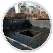 New York City National September 11 Memorial Round Beach Towel