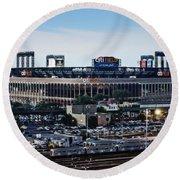 New York Mets Citi Field Round Beach Towel