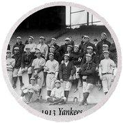 New York Yankees 1913 Round Beach Towel