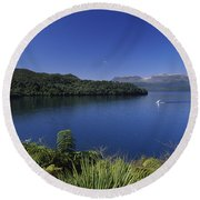 New Zealand, Rotorua Round Beach Towel