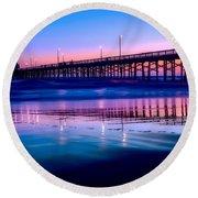 Newport Sunset Round Beach Towel