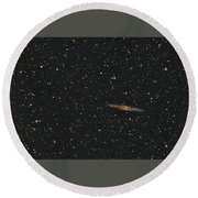 Ngc Eight Nine One And Abell Three Four Seven Round Beach Towel
