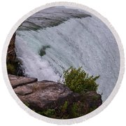 Niagara Fall Edge Round Beach Towel