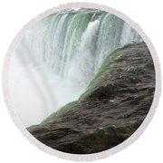 Niagara Falls 1 Round Beach Towel