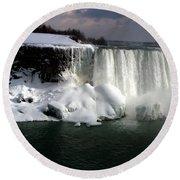 Niagara Falls 6 Round Beach Towel