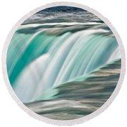 Niagara Falls Number 2 Round Beach Towel