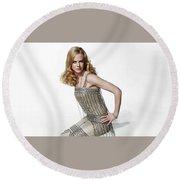 Nicole Kidman Round Beach Towel