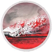 Nightfall 09 Round Beach Towel