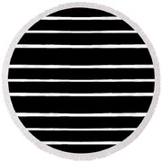 Nine Bars Round Beach Towel