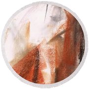 The Horse Within  Round Beach Towel