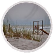 No 1 Round Beach Towel