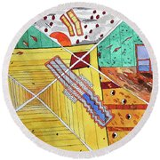 No Way Out ? Round Beach Towel