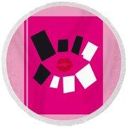 No458 My Mean Girls Minimal Movie Poster Round Beach Towel
